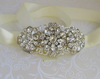 Wedding Headband bridal headpiece crystal hairpiece silver Headband rhinestone wedding hair accessory bridal Headband