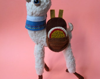 Pizza Delivery Alpaca