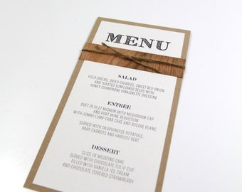 Wood Veneer Menu, Rustic Wedding, Menu Card, Reception Decor, Table Decor, Dinner Menu, Weddings