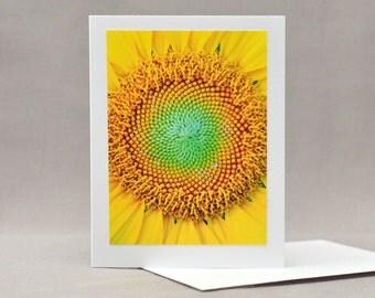 Sunflower Note Card