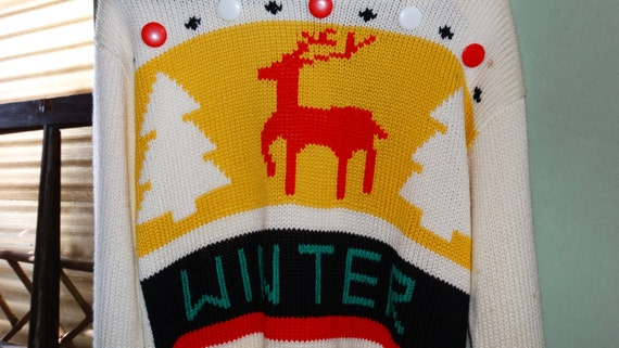 Ugly Sweater from Etsy shop TheIDConnection
