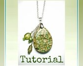 Polymer Clay Mica Shift Tutorial- Mica Shift Mystery Pendants- PDF Lesson #2