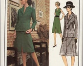 """Vintage Sewing Pattern Vogue 2587 Paris Original Givenchy Dress Size 12 34"""" Bust - Free Pattern Grading E-book Included"""