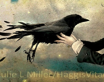 The Arrival - signed fine art print by Julie Miller