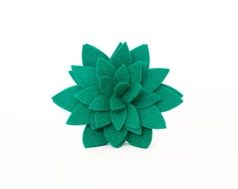 Dog Collar Flower - Emerald Green Blossom