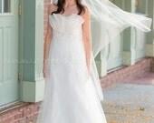 Cap Veil, Crystal Rhinestone Juliet Cap Veil, Juliet Veil, Bridal Cap Veil, Great Gatsby Bridal Veil, 1920s Inspired Wedding Veil - Rochelle