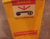 Vintage Kodak Kodacolor-X Film