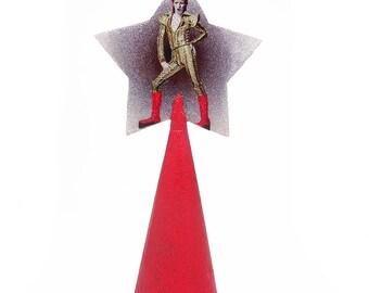 Davie Bowie / Ziggy Stardust Christmas Tree Topper