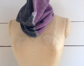 The Union Menswear Cowl in Rapture/Grey/Charcoal