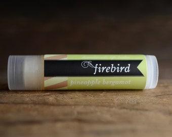 Pineapple Bergamot Lip Balm, Handmade Lip Balm