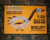 34th Annual Wayzgoose Book Arts Fair Poster 2012