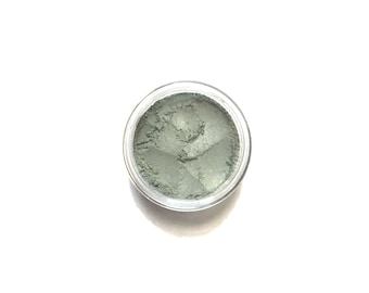 Meadow - Medium Muted Green Vegan Mineral Eyeshadow - Handcrafted Makeup