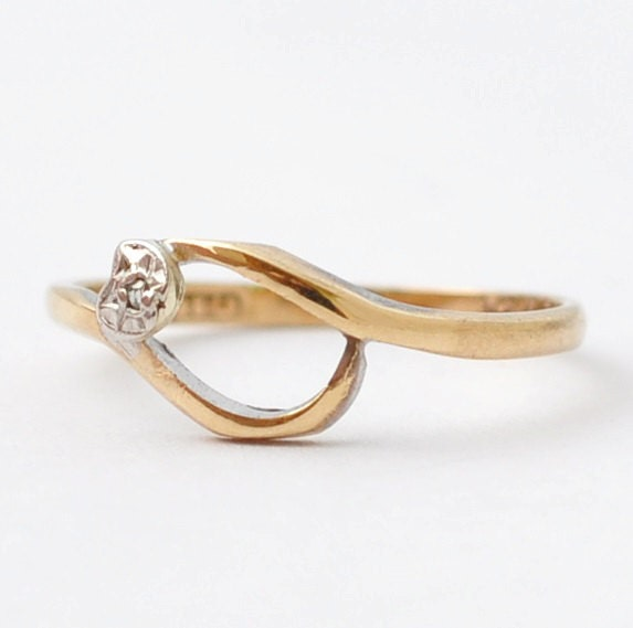 reserved for promise ring unique 9k gold