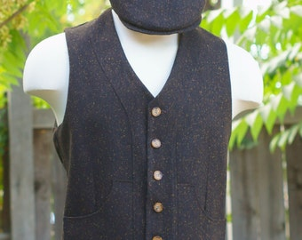 Irish Tweed Vests and Caps