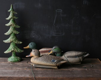 Vintage Female Duck Decoy Hunting Sport Still Life Home Decor Vintage From Nowvintage on Etsy