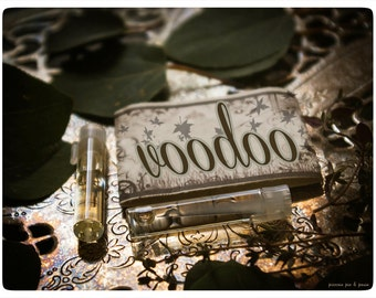 voodoo - natural perfume oil twin vial sampler pack - primary notes: neroli, white tea and ginger