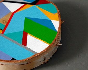 Affordable Original Art/Painting/Acrylic on Wood/Contemporary, Geometric, Minimalist, Abrstarct/Art for sale!