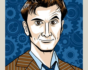 10th Doctor - Doctor Who print