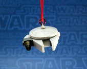 Millennium Falcon Star Wars Christmas Ornament made from Genuine New LEGO (r) Pieces