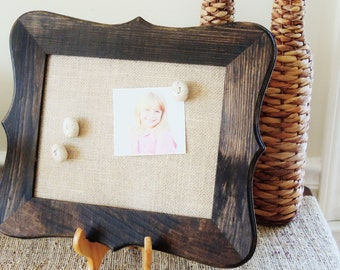 Corkboard Cork Board Framed Cork Bulletin Boards Rustic Fancy Frame Memo Board Burlap Fabric Message Decorative Pin 8x10 Wedding