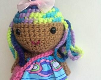 Ready to ship cute handmade doll