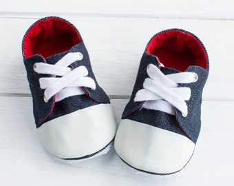 no 682 Kaley Baby Sneakers PDF Pattern