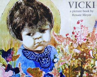 1968 VICKI by RENATE MEYER First Edition hardcover book