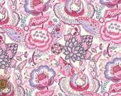 Liberty Tana Lawn Fabric - Liberty Japan, Hello Kitty Tree of Life Garden, Liberty Print Cotton Scrap, Kawaii Quilting - ntkitty02f