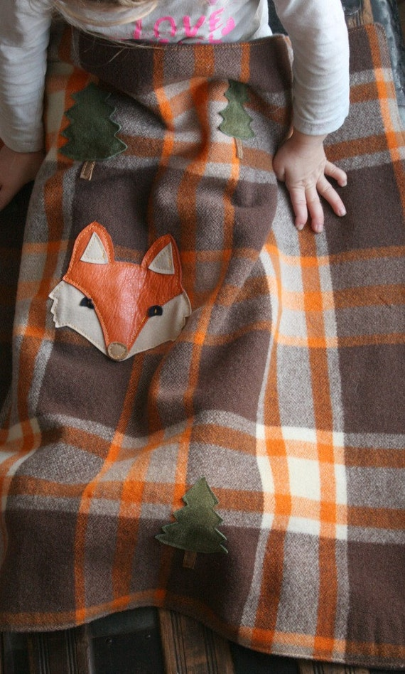 Eco Friendly Childs Blanket Etsy