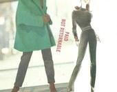 Vogue Attitudes 2562 Vintage Designer Sewing Pattern By Jennifer George // Pants Top Jacket Coat