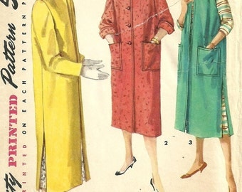 Simplicity 1470 / Vintage 50s Sewing Pattern / Coat / Size 15 Bust 33