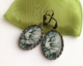 Dryad Earrings - Spirit Dancer - Tree woman - Tree Charm Earrings - Dancing Heart