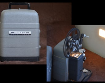 Bell & Howell Super 8mm Movie Projector - Auto Load Model 254 RA-  50s