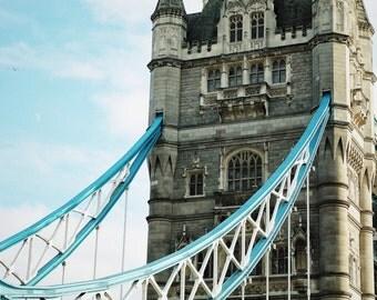 Fine Art Photography Tower Bridge, London, UK, 8x12 architecture, vintage
