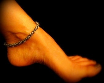 Anklet - Antique Silver Byzantine