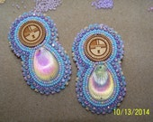 Native American Beaded Earring