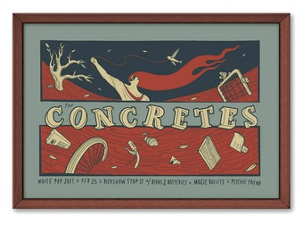 Concretes Poster