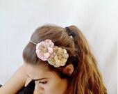Another Year Older Daisy Paper Mache Headband