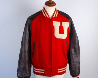 1960's Indiana University Letterman Jacket