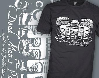 Mystic Knights of the Oingo Boingo Shirt - Dead Man's Party - 80's Rock Shirt Shirt