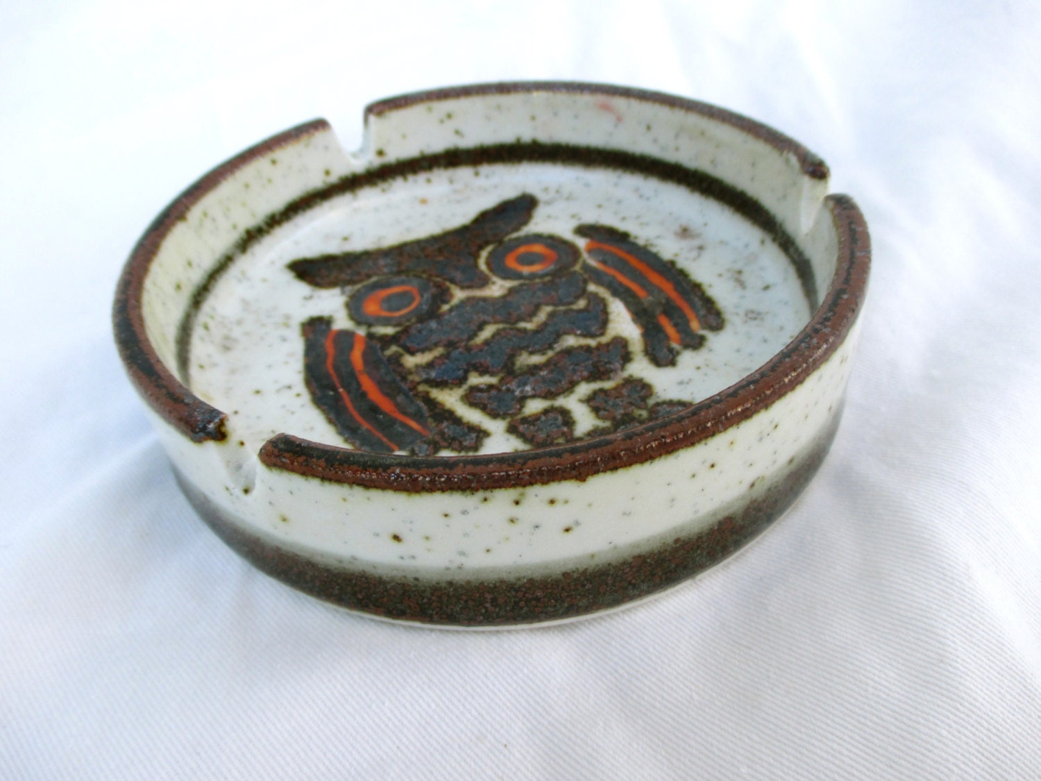 Vintage Ceramic Ashtray 67