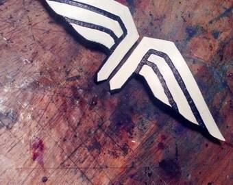 Captain America Wings Hair clips