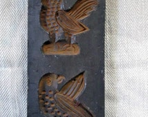 Antique German Springerle Cookie Wax Mold