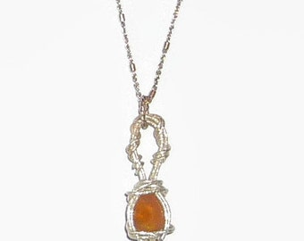 Ethiopian Opal Necklace Faceted Sterling Silver .925 Wire Wrapped