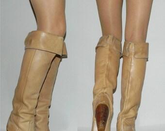 vintage 70s 80s ZODIAC boots 6