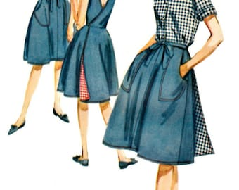 1960s Retro Separates Pattern BUTTERICK 2745  60s Back Wrap Jumper, Skirt, Blouse and Shorts Pattern  UNCUT Factory-Folded  Bust 32