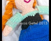 Knit Doll Pattern Waldorf SALE!