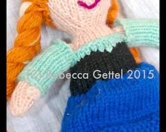 Knit Doll Pattern Waldorf