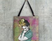 Illustrated Tote Bag - 'The Lovely Frida'
