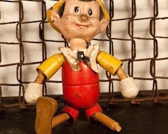 Antique Pinocchio Doll